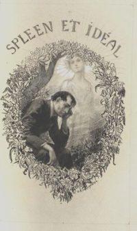 """Georges Antoine Rochegrosse Illustration pour """"Les Fleurs du Mal"""""""