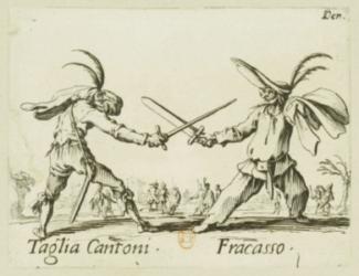 écrivain maudit en duel